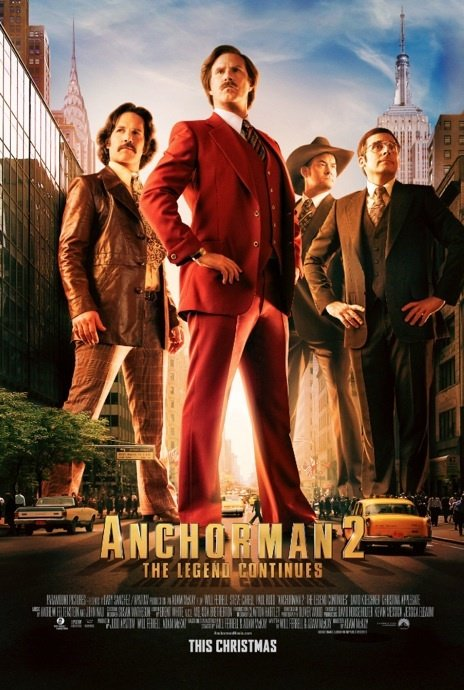 Anchorman 2 The Legend Continues Full Movie Online
